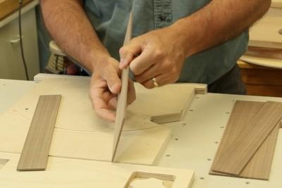 Préparer des lamelles de bois