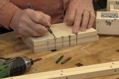 Des vis à bois spécialisées pour l'atelier