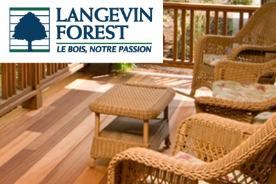 Bois de terrasse et clôture - Langevin & Forest