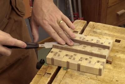 Comment utiliser une lame à araser