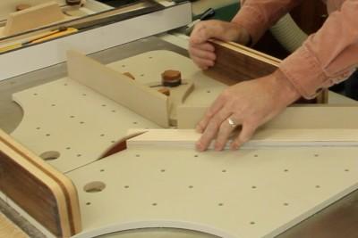 Travail du bois et trucs et astuces d'atelier - Préparer un angle parfait