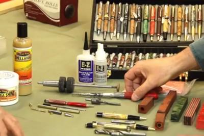 Tournage de stylos, premiers pas