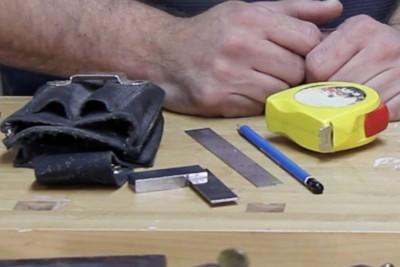 Les outils de base de l'ébéniste, cours d'ébénisterie