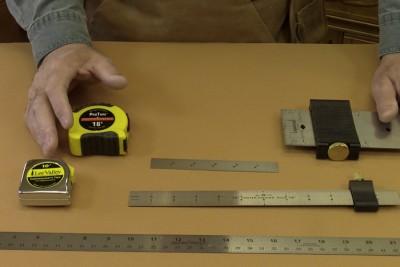 Quelques outils de mesure pratiques dans l'atelier