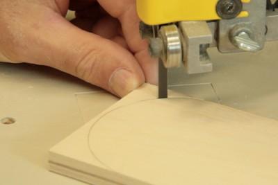 Truc de coupe pour scie à ruban