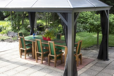 Ensemble patio - Style contemporain