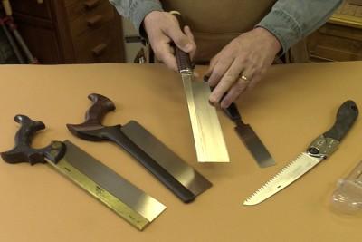 Quelques scies à main pratiques dans l'atelier
