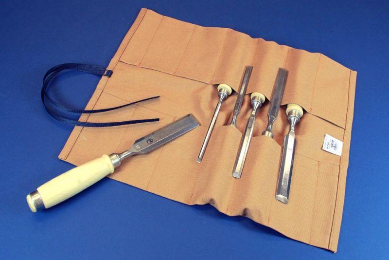 rouleau d 39 outils classique pour ciseaux bois bois passions et cie. Black Bedroom Furniture Sets. Home Design Ideas