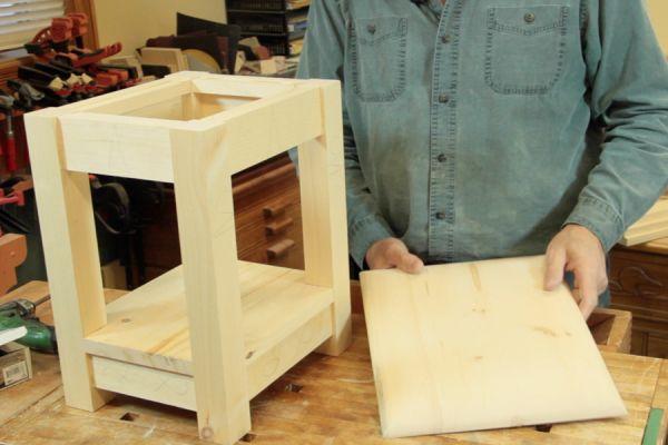 Projet - Fabrication d'un tabouret robuste