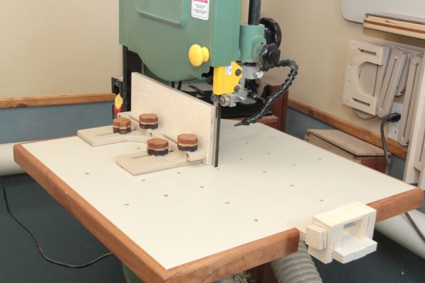 Band saw table top