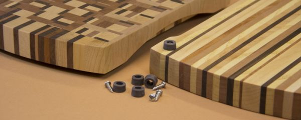 Quelles pattes choisir pour fixer sous les planches et blocs de boucher et où les trouver?