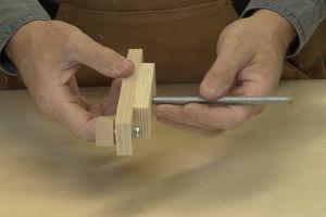 Fabrication des poignées de serrage