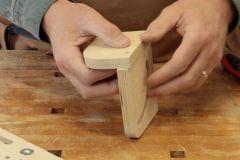 Truc pour stabiliser des pièces de bois
