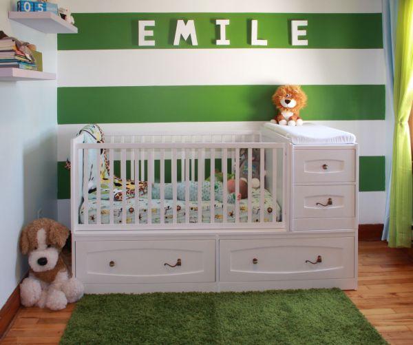 Couchette de bébé Émile