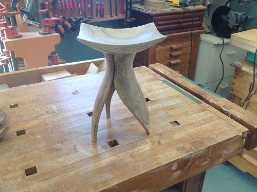 Sculpture et tournage sur bois
