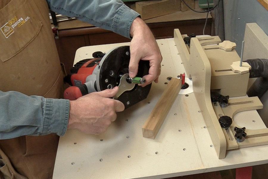 Comment changer le fer sur une toupie