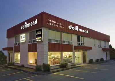 Les peintures de Armond, magasin de sherbrooke