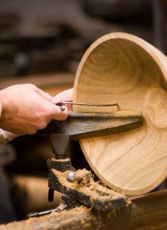 Bol tourneur sur bois
