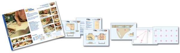 Plans détaillés - guides pour banc de scie