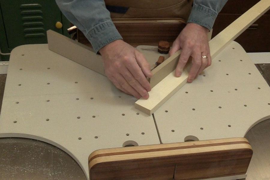 Truc pour valider un angle 45 degr s bois passions et cie - Comment couper un angle a 45 degres ...