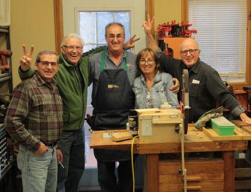 Formation en atelier - L'affûtage des outils à main