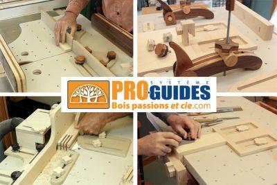 COMBO - Guides de précision