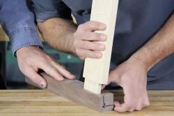 Tenon et mortaise, initiation au travail du bois