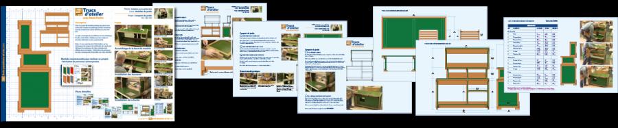 Cahier de plans - Comptoir de jardin