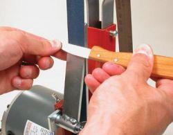 Accessoire d'affûtage de couteau