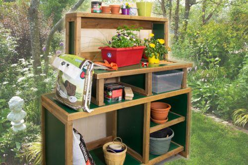 Comptoir de jardin démontable