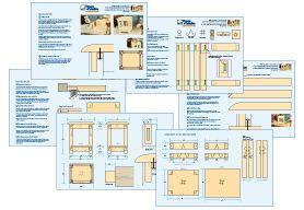 Plans détaillés - Fabrication d'un tabouret robuste