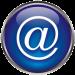 Bouton d'accès courriel