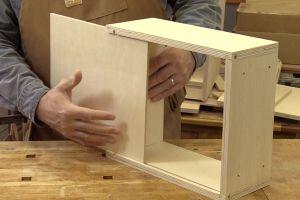 Installation du fond du tiroir