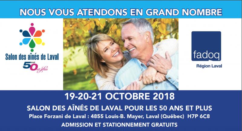 Salon des aînés de Laval