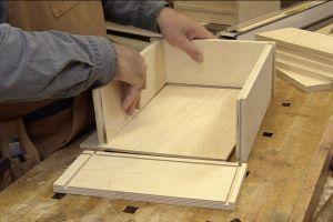 Principaux composants du tiroir
