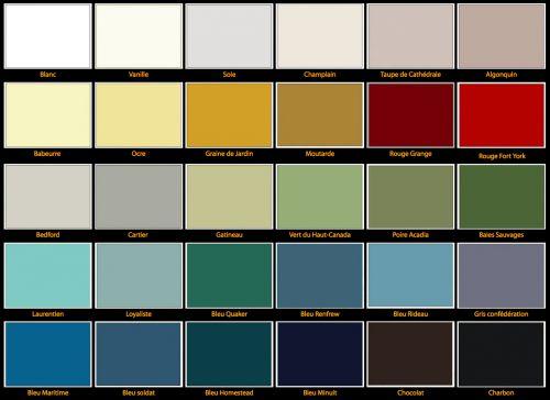 Choix de couleurs - huile