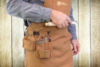 Pochettes à outils pour tablier d'ébéniste