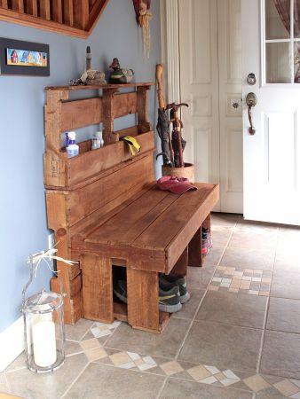 mobilier de palettes r cup r bois passions et cie. Black Bedroom Furniture Sets. Home Design Ideas