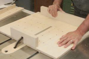 Installation des blocs d'appui
