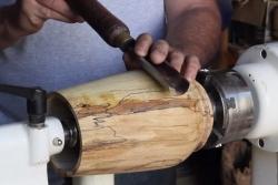Tournage sur bois, outils de base