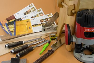 COMBO - Initiation au travail du bois