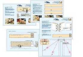 Plans détaillés - guides ajustable pour queues droites