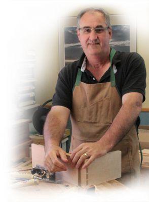 Denis Fortin, artisan ébéniste